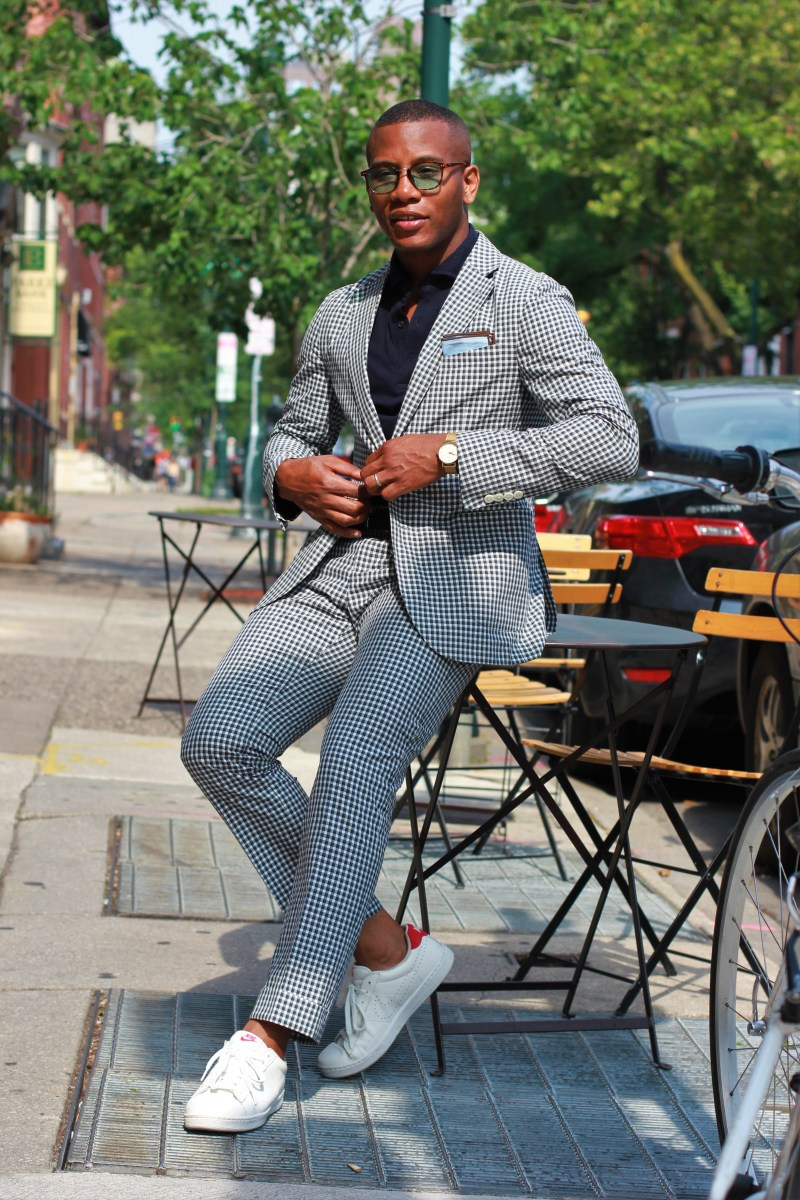 Taming The Gingham Suit 3 Ways
