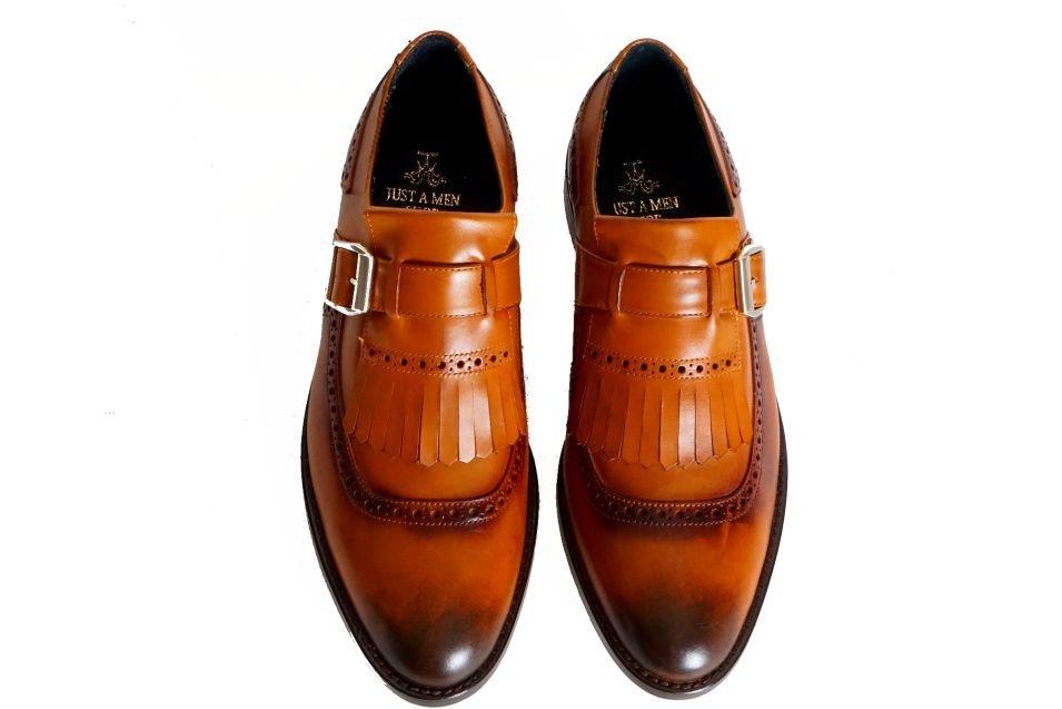 Just A Men Shoe - The Lino Kiltie Loafer