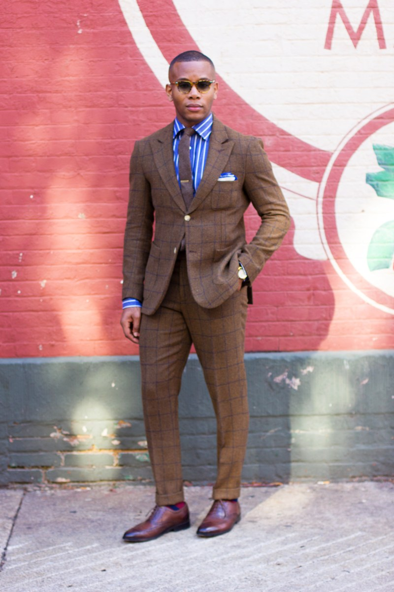 Brown Tweed & Windowpane: Two Ways To Be The Freshest Geezer