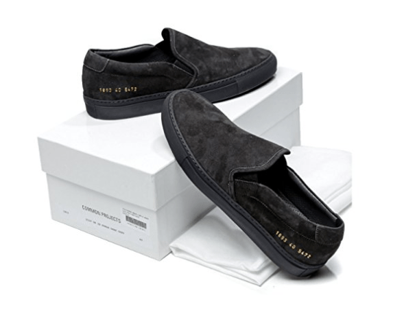 Common Projects Wiberlux Black Suede Sneakers