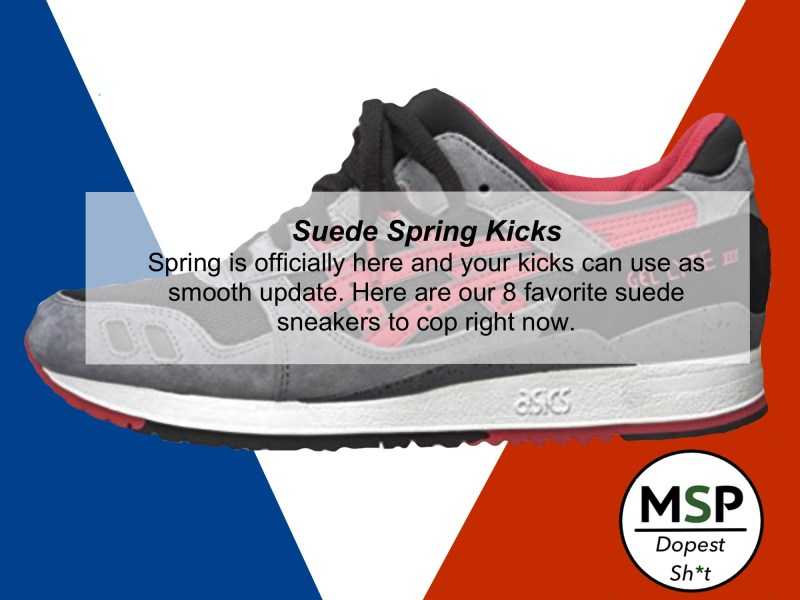 Best Suede Sneakers For This Spring