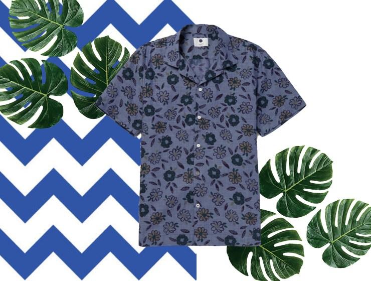 Men's Camp Collar & Floral Shirts