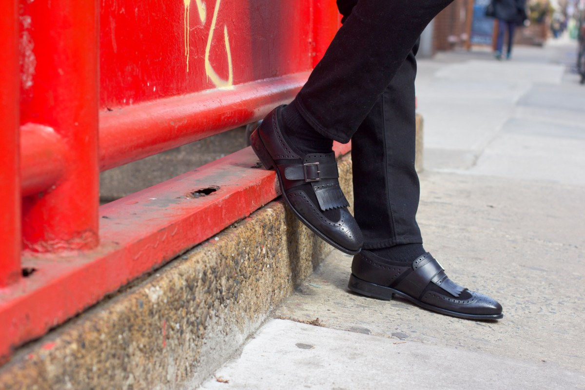Kiltie Loafer Revamped: A Double-Black Sequal
