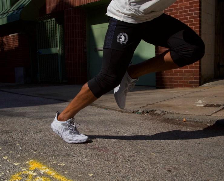 Sabir M. Peele of Men's Style Pro Testing Running Adidas AlphaBounce