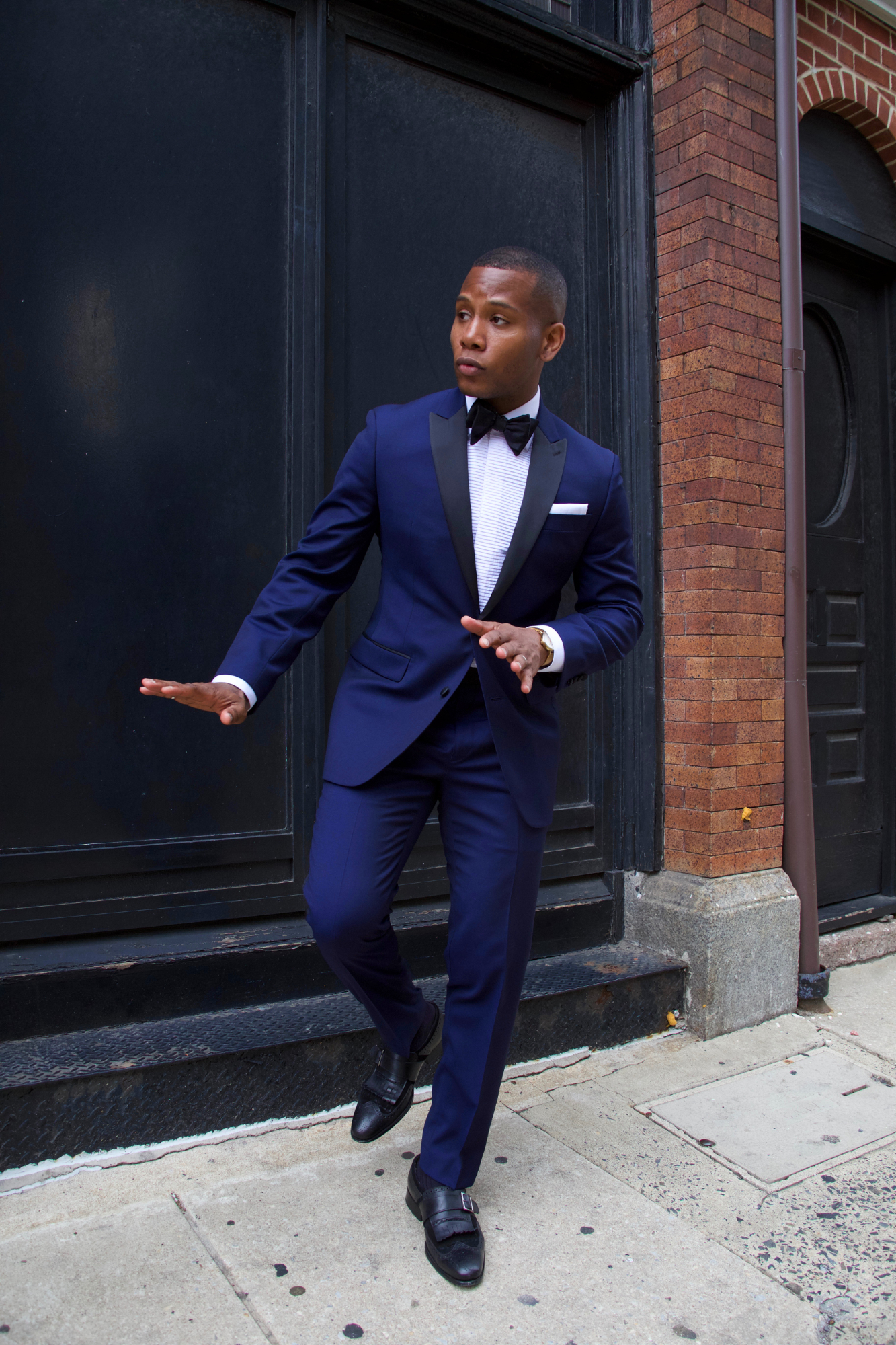 Tallia Orange Formalwear styled on Men's Style Pro