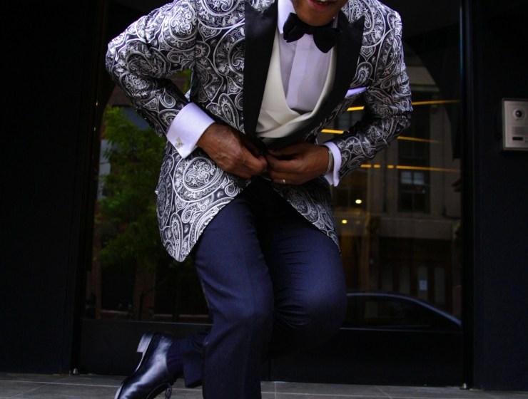 Tallia Orange Amped Up Formalwear with Men's Style Pro