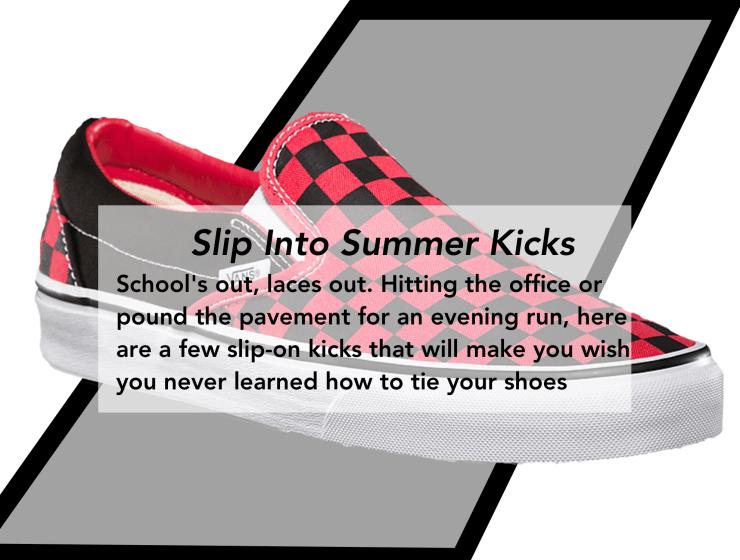 Slip-On Sneakers Men's Style Pro