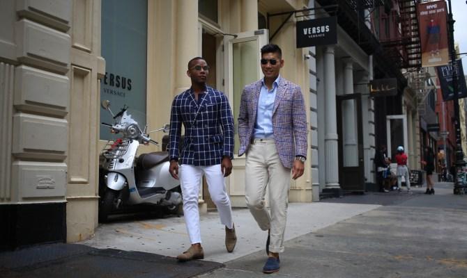 Men's Style Pro & Levitate Style in Check & Plaid Blazers