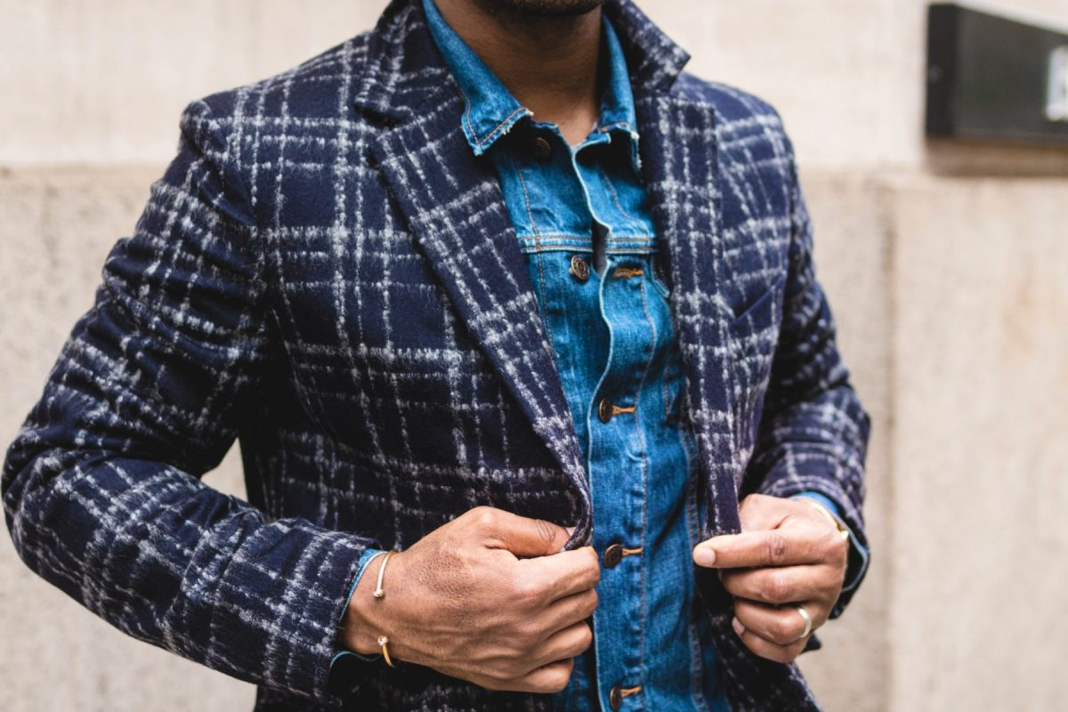 Fall Style Upgrade: The Large Checked Topcoat