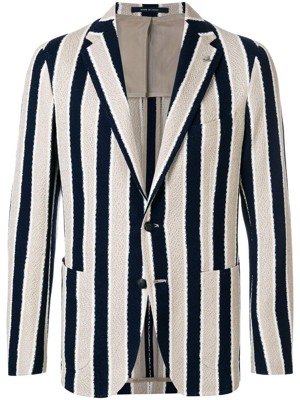 tagliatore stripe blazer farfetch sale