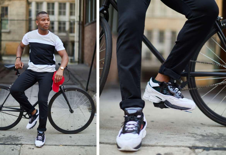 Raf Simoms x Adidas Originals Ozweego Sneakers Men's Style Pro