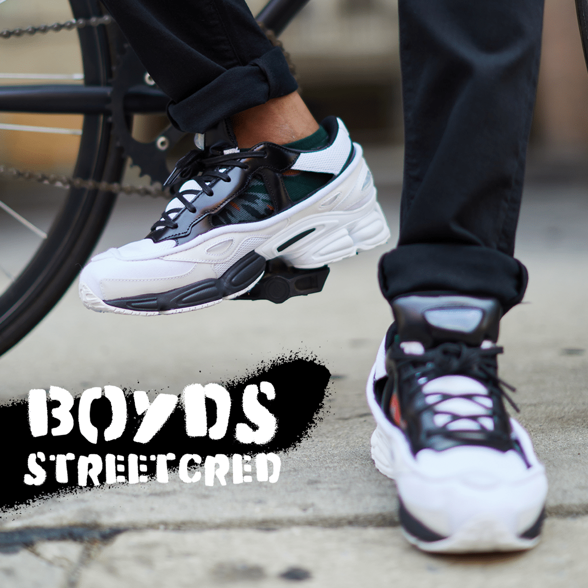 Boyds Philadelphia Giveaway - Raf Simoms x Adidas Originals Ozweego Sneakers
