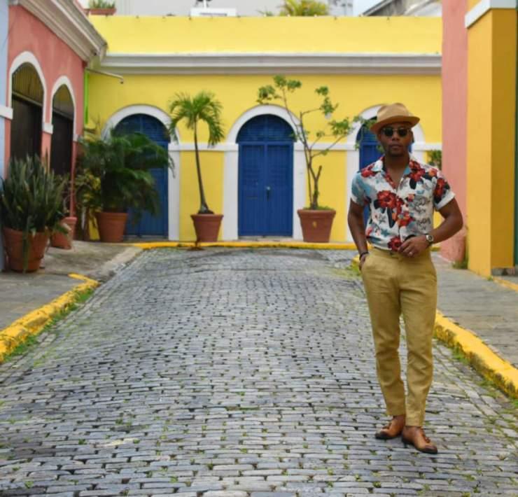 Men's Style Pro in Old San Juan Puerto Rico