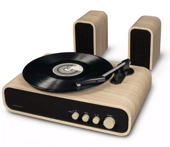 Crosley Turntable & Speakers