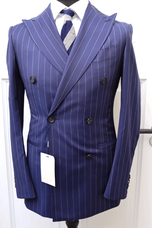Suitreview Double Breasted Chalk Stripe Suit
