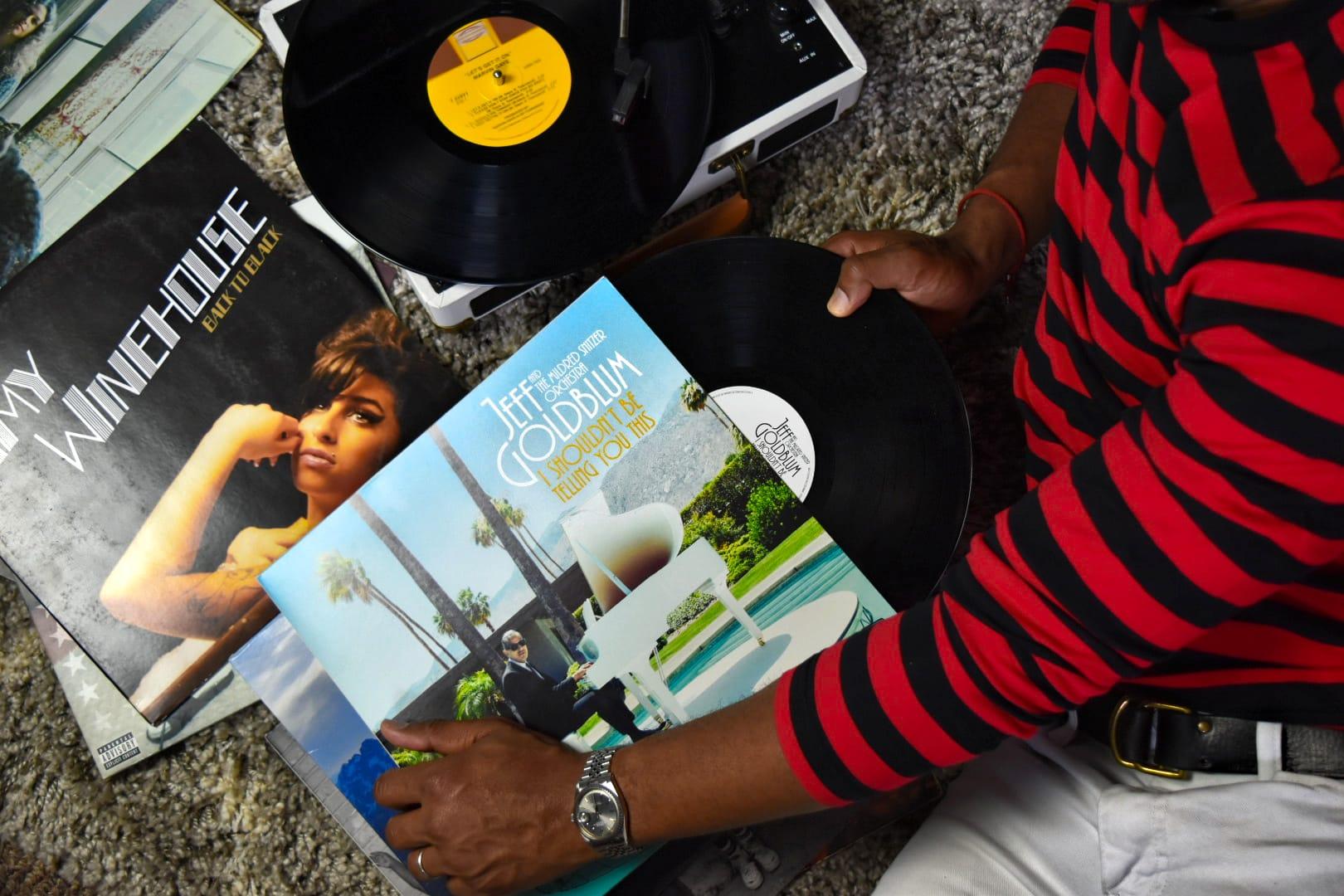 Collecting Vinyl on Men's Style Pro