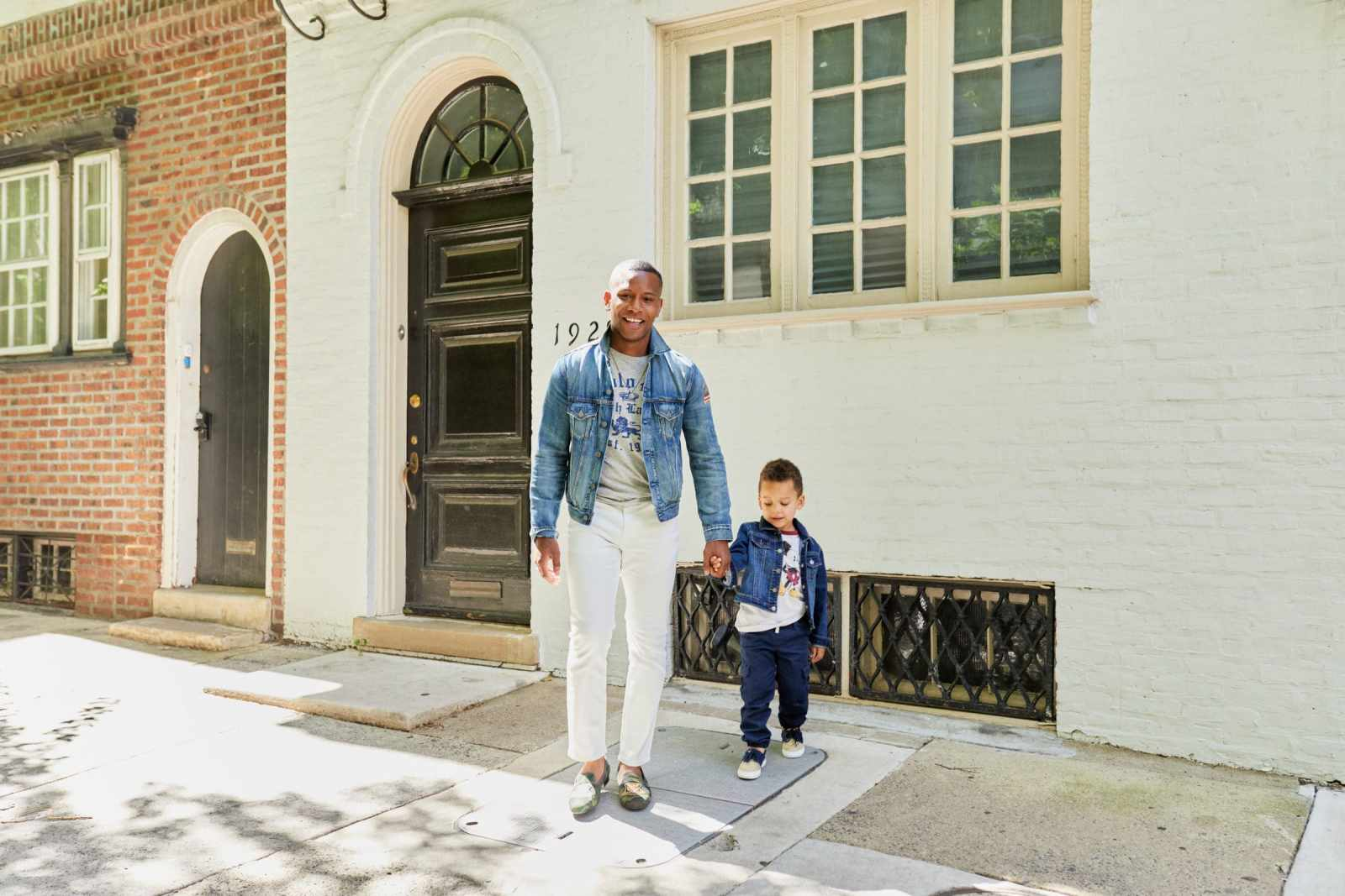 Sabir M. Peele and Hendrix Peele of Men's Style Pro Blog Philadelphia