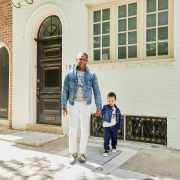 Sabir M. Peele and Hendrix Peele of Men's Style Pro Blog Philadelphia