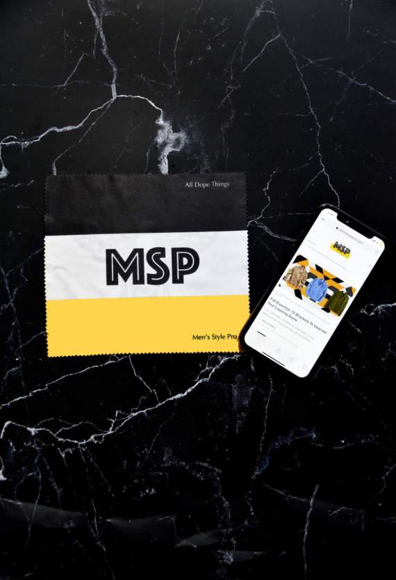 MSP Logo Microfiber Cloth