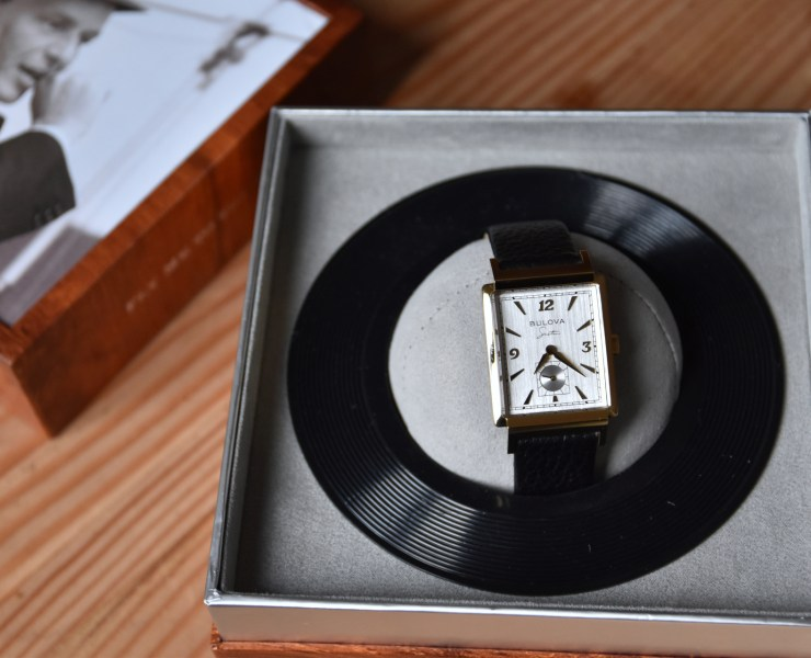 "Bulova x Frank Sinatra ""My Way"" Watch"
