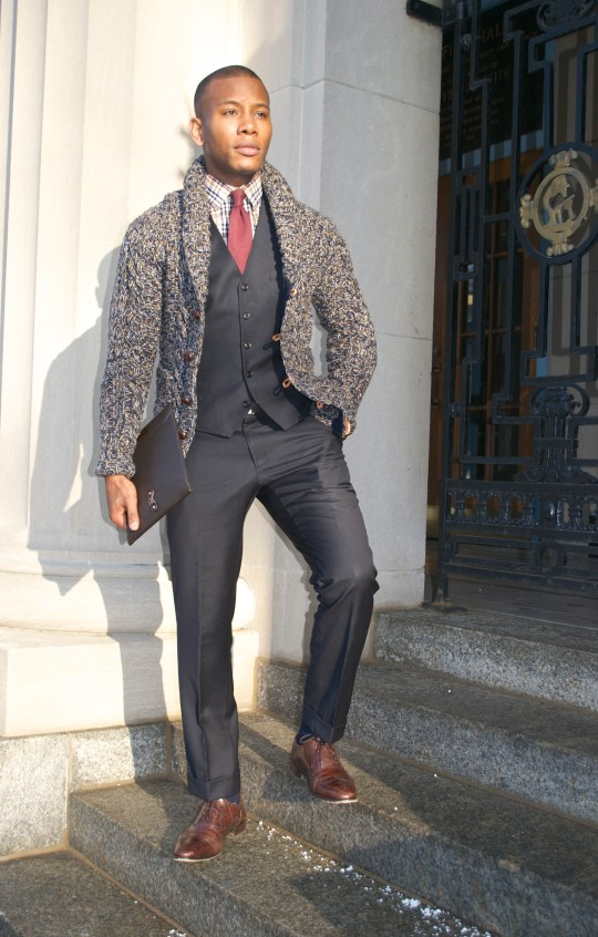 Onassis Clothing Weber Cardigan - Men's Style Pro