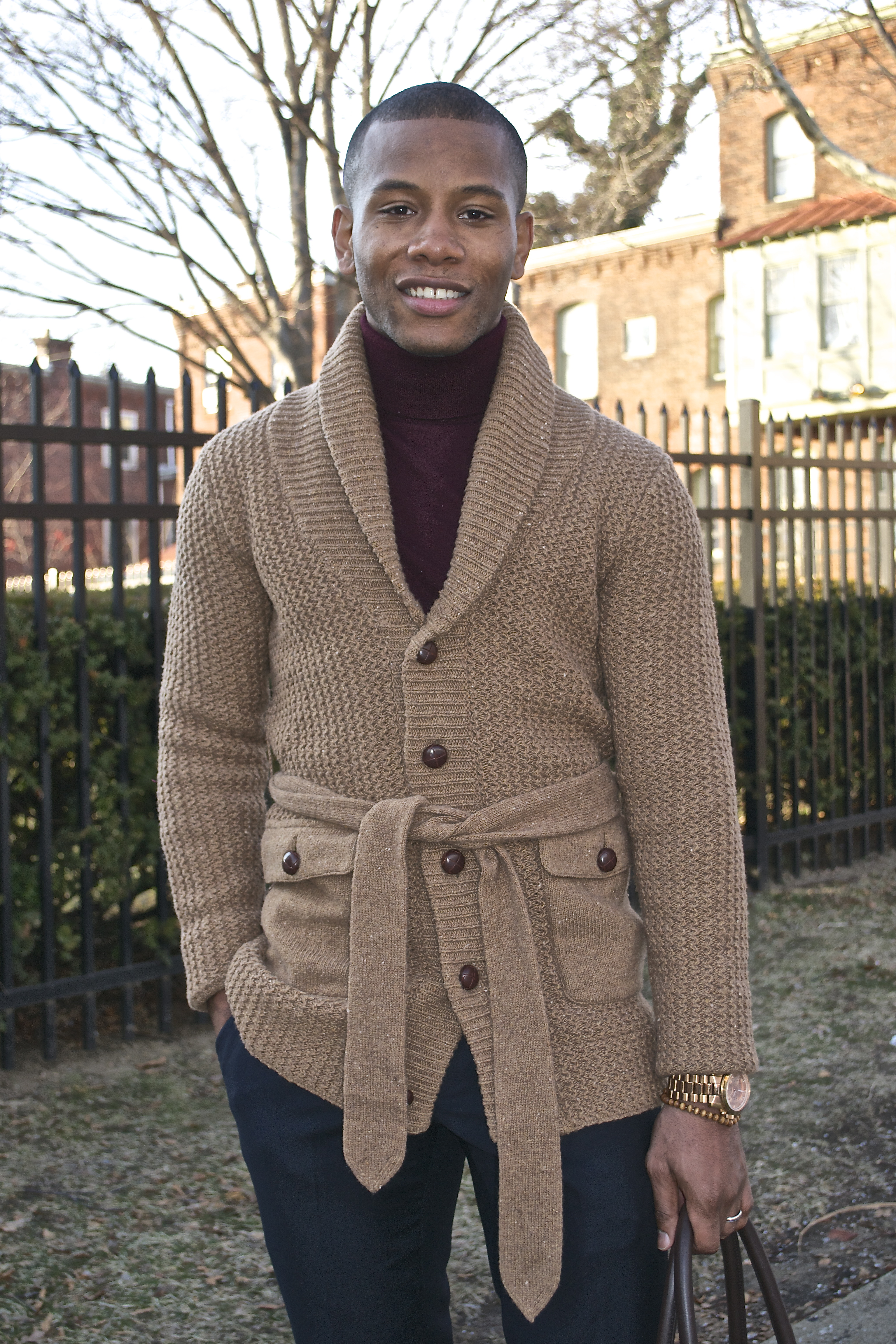 How To: Wear Cardigans As Outerwear | Men's Style Pro ...