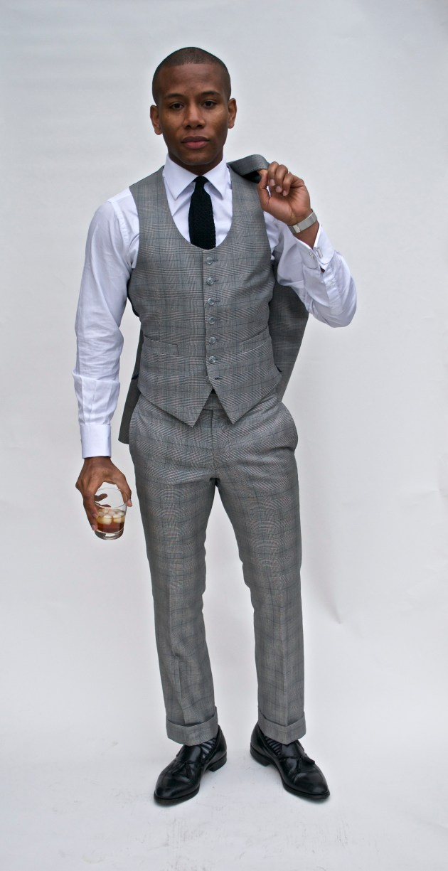Custom Glen Plaid Suit By Imparali Custom tailors x Men's Style Pro