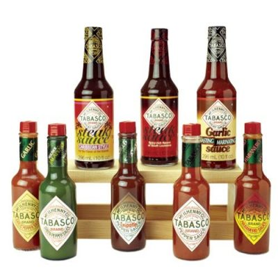 Tabasco Sauce Flavors _Stocking Stuffers for Men who are snack happy