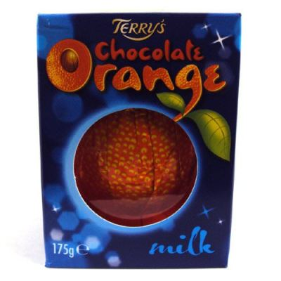 Chocolate Orange_Stocking Stuffers for Men under $5