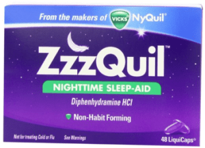 ZzzQuil Nighttime Sleep-Aid Liquicaps 48 Count