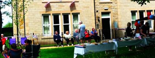 Menston Hall Jubilee 'Big Lunch' 6