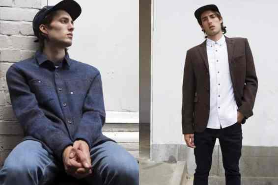 Asos and Harris tweed Autumn Winter 2014 men lookbook 7
