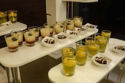 Club lounge - food