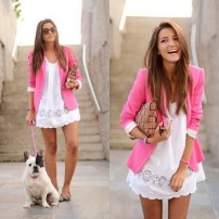 colorful blazer