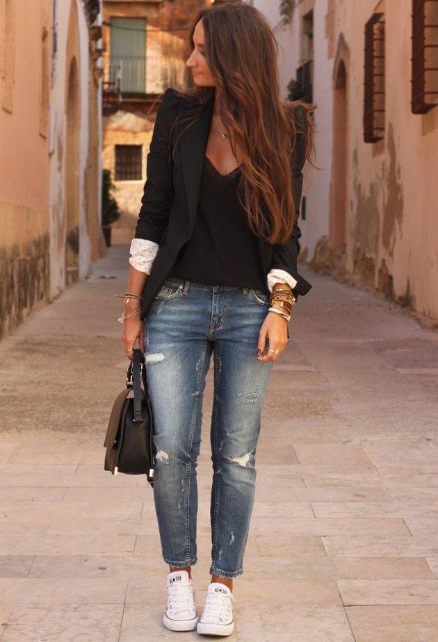 style blazer nike femme