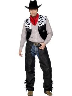 Cowboy leather black