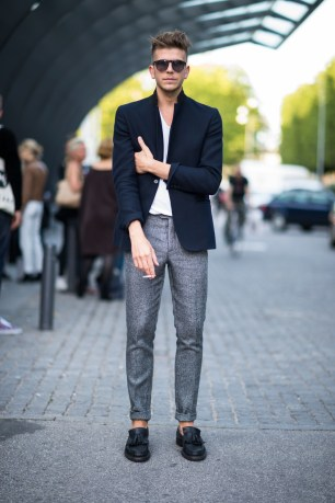 7 Trousers with blazer