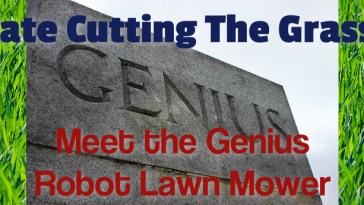 the genius robot lawn mower
