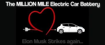million mile electric car battery