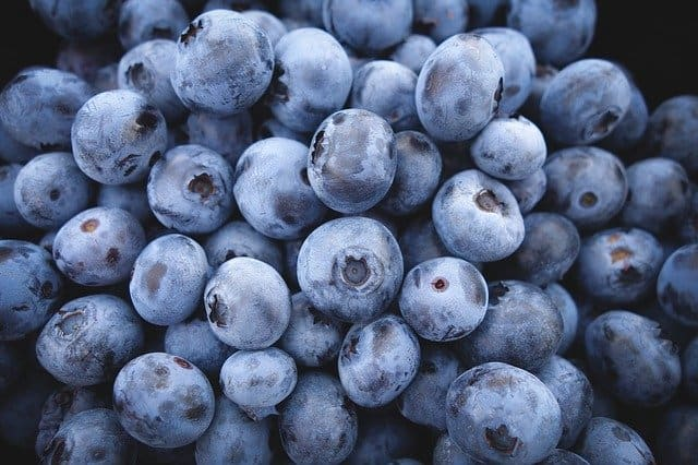 Blueberries are a super food