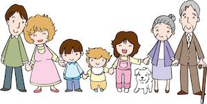 家族の繋がり