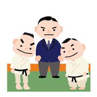 柔道・向き合う