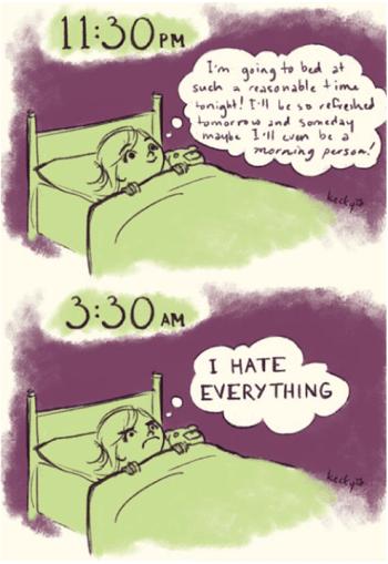 Insomnia cant sleep