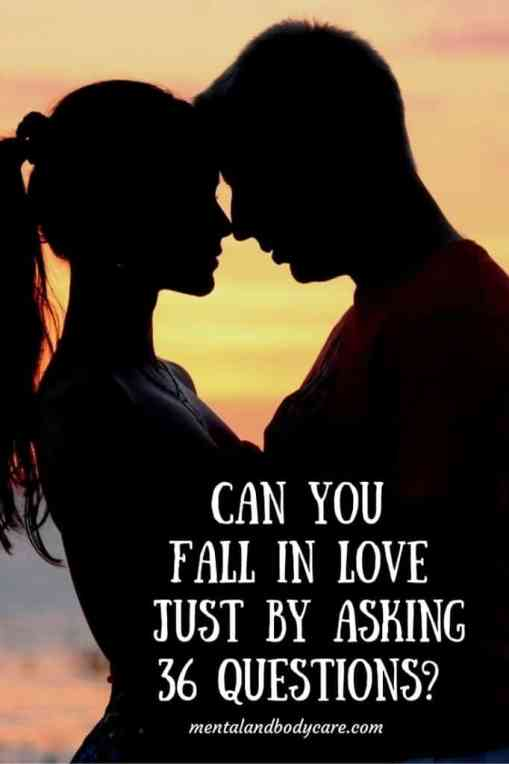 Fall in love by asking questions