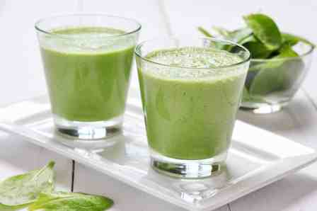 Spinach Smoothie - powerful immune system boosters