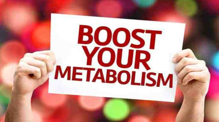 Boost Your Metabolism Sign - foods to increase metabolism
