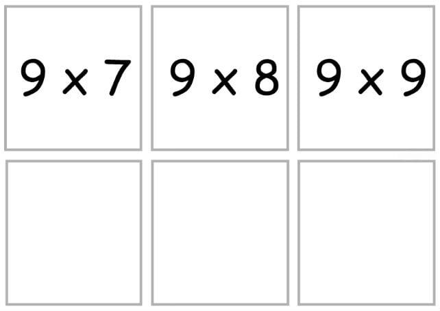 умножение9-3