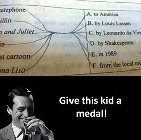 Give This Kid a Medal Meme