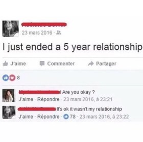 I just ended a relationship meme