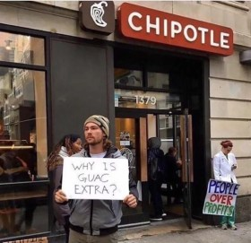 Why Is Guac Extra meme